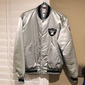 GUC Vintage Silver Raiders Starter Jacket